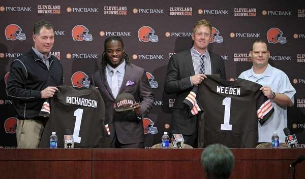 Cleveland Browns first round draft picks running back