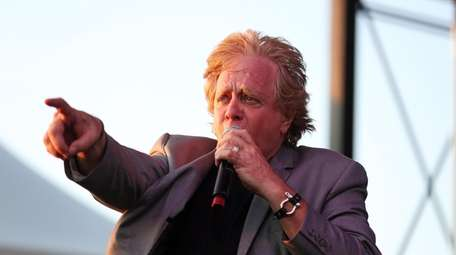 Eddie Money performs at the Great South Bay