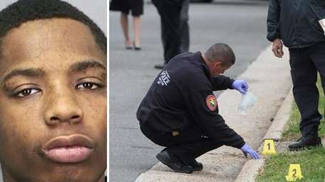 At left, Andre Chambers, who was killed at