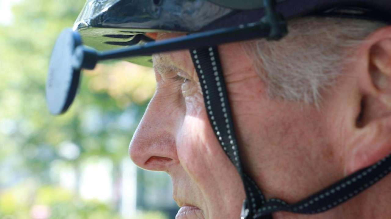 Cyclist Mike Petrizzi of Rockville Centre has been