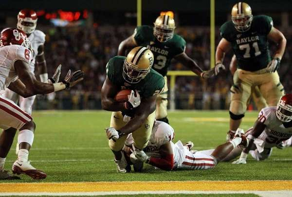 TERRANCE GANAWAY RB, Baylor 6-foot, 239 6th round,
