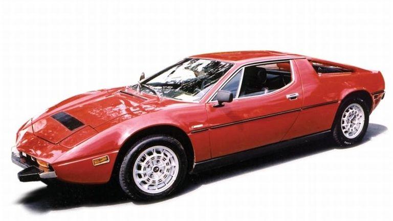 Beneath the Maserati Merak's gorgeous bodywork was a