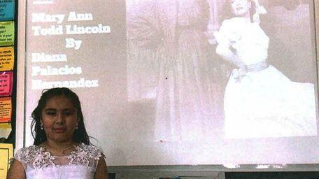 Kidsday reporter Diana Palacios of Inwood as First