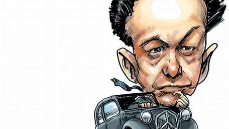Photo illustration of Flaminio Bertoni.