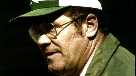 Jets head coach Walt Michaels in 1980.