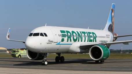 Frontier Airlines flies to eight destinations from Long