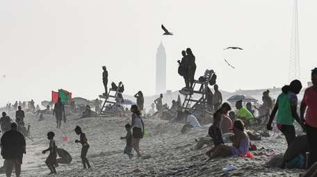 Lifeguards will be on duty at Robert Moses