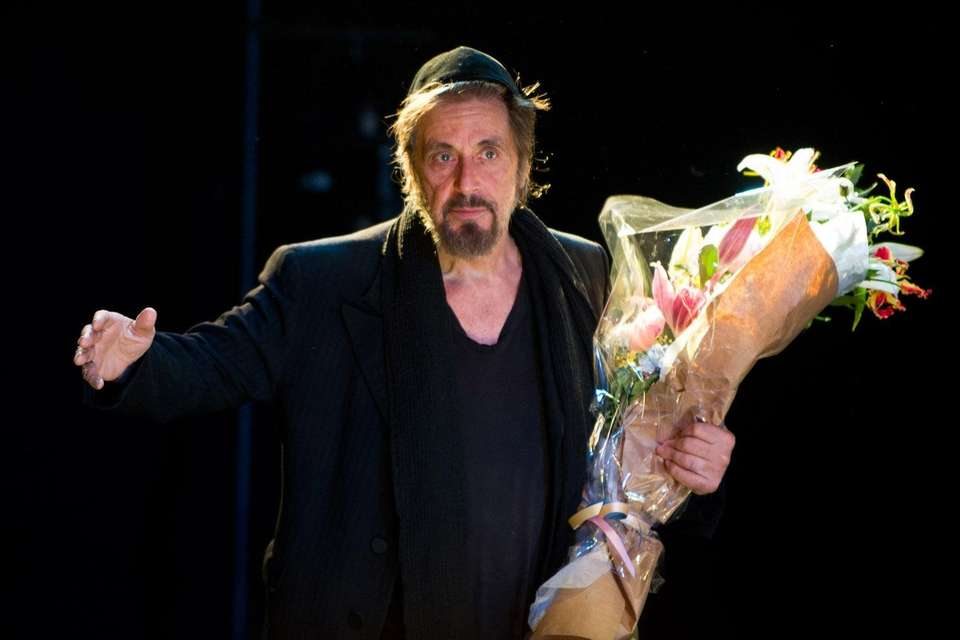 Al Pacino most recently starred on Broadway in