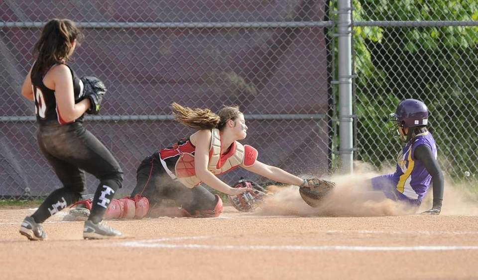 Oyster Bay's Olivia Agostinello is safe at home