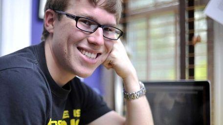 Aspiring television writer David Kane, 20, of Rockville
