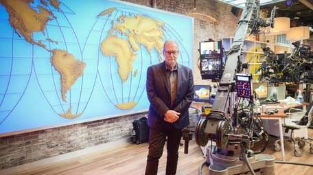 CBS travel editor Peter Greenberg is working on