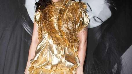 Björk, seen at an event at the Museum
