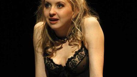 Nina Arianda is shown in a scene from