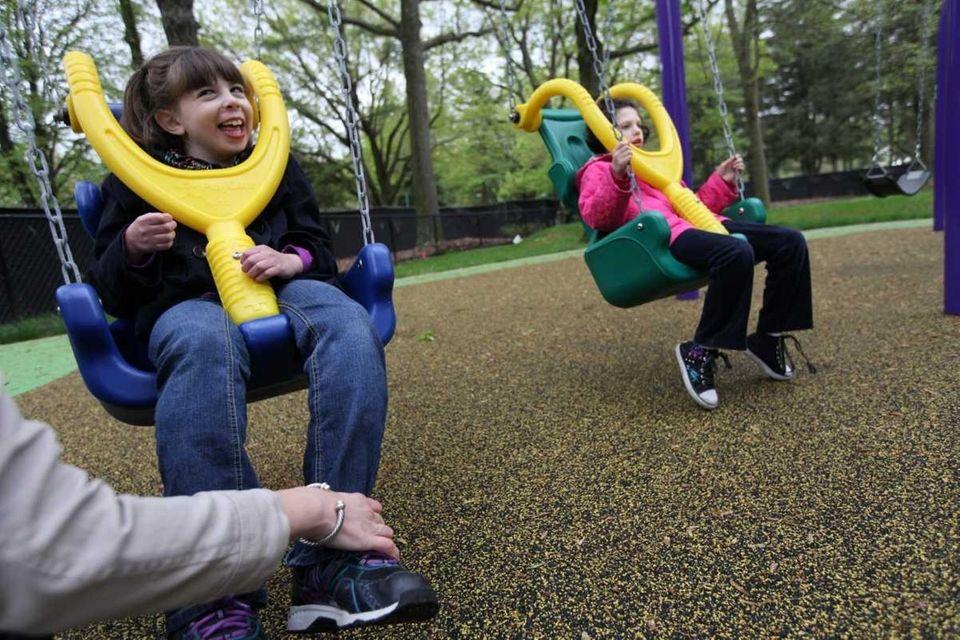 8. Handicap-accessible playground opens A $1.25 million playground,