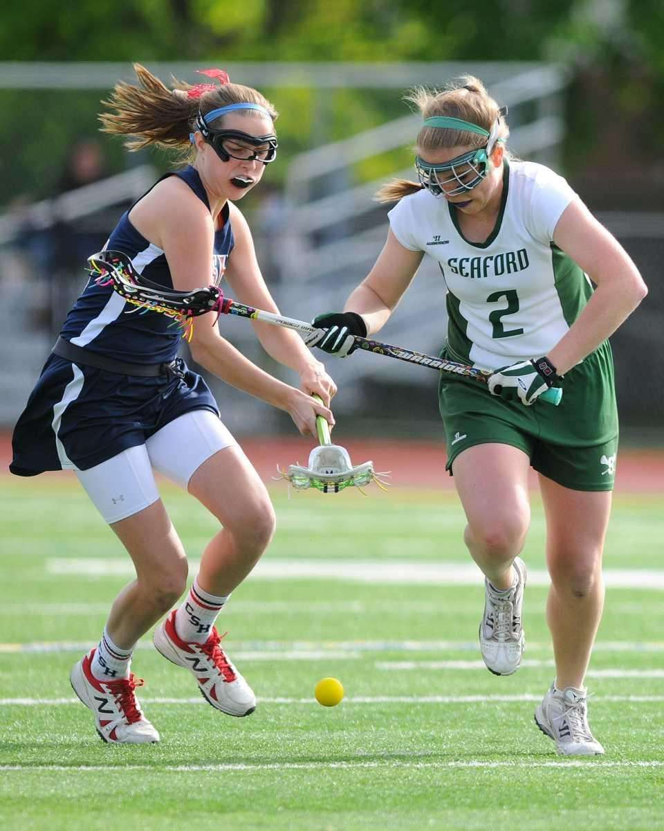 Cold Spring Harbor #23 Tara Atkinson, left, and