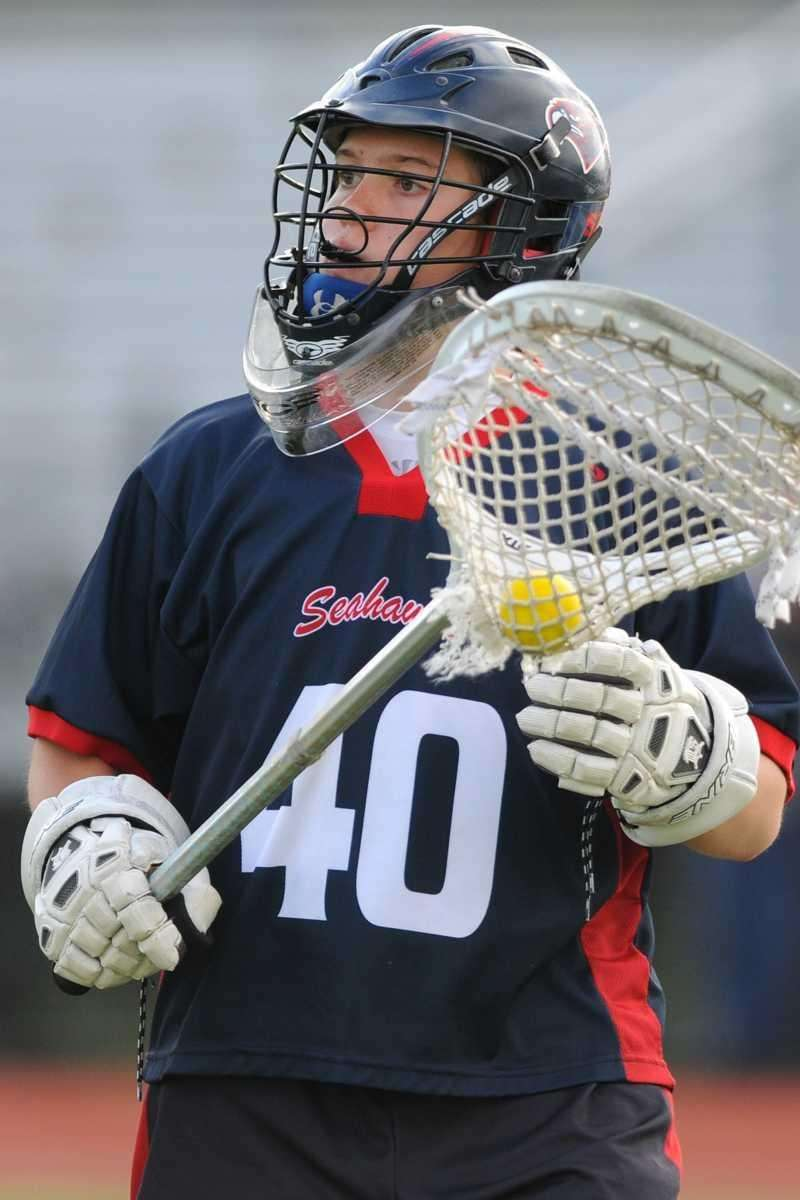Cold Spring Harbor High School goalie #40 Haley