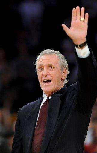 Miami Heat President Pat Riley has a less