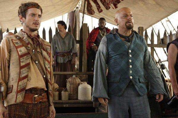 Elijah Wood as Ben Gunn, Eddie Izzard as