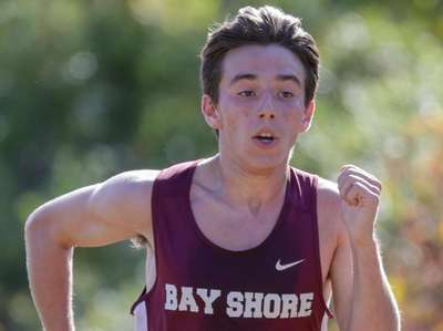 Jake Rabin of Bay Shore places 2nd in