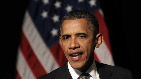 President Barack Obama speaks in Dearborn, Mich. (April