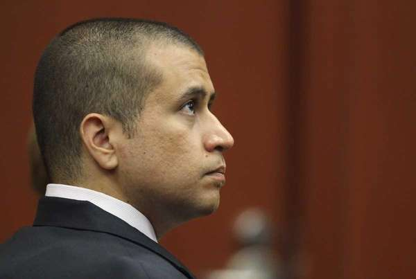 George Zimmerman appears before Circuit Judge Kenneth R.