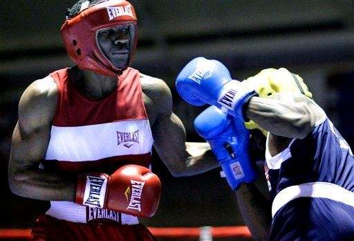MARCUS BROWNE Boxing Browne, a 21-year-old light heavyweight,