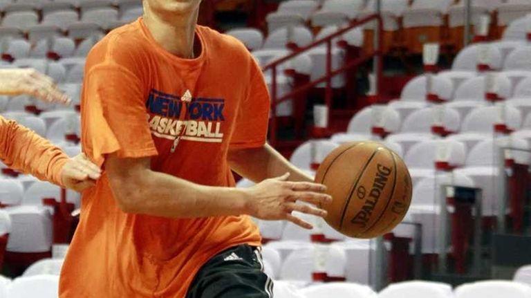 Guard Jeremy Lin of the New York Knicks
