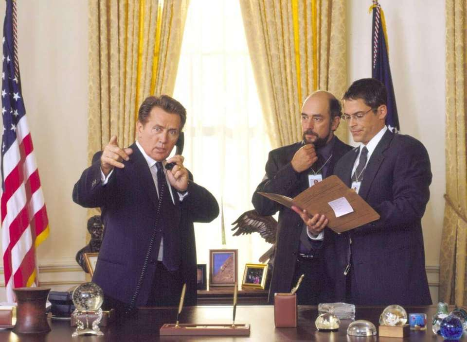 The last day of the Bartlet administration, and