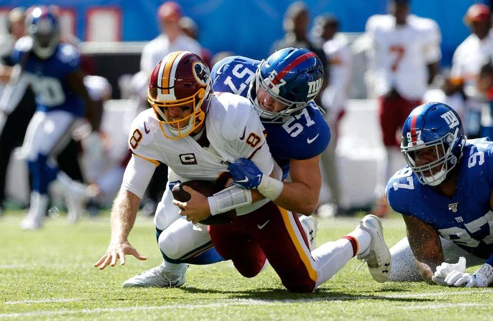 Ryan Connelly #57 of the New York Giants