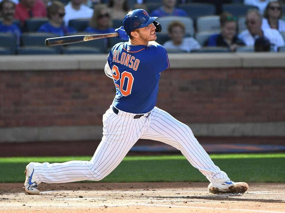 Pete Alonso received 29 of the 30 first-place