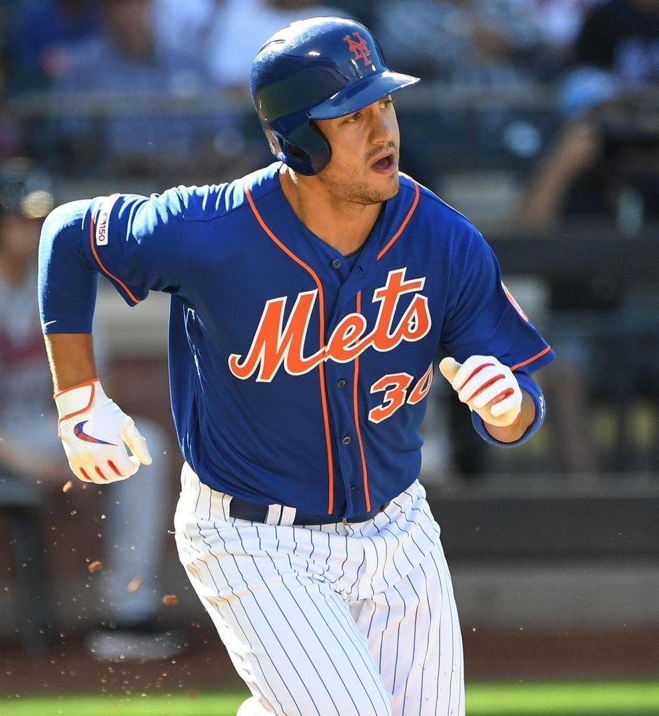 Mets right fielder Michael Conforto at Citi
