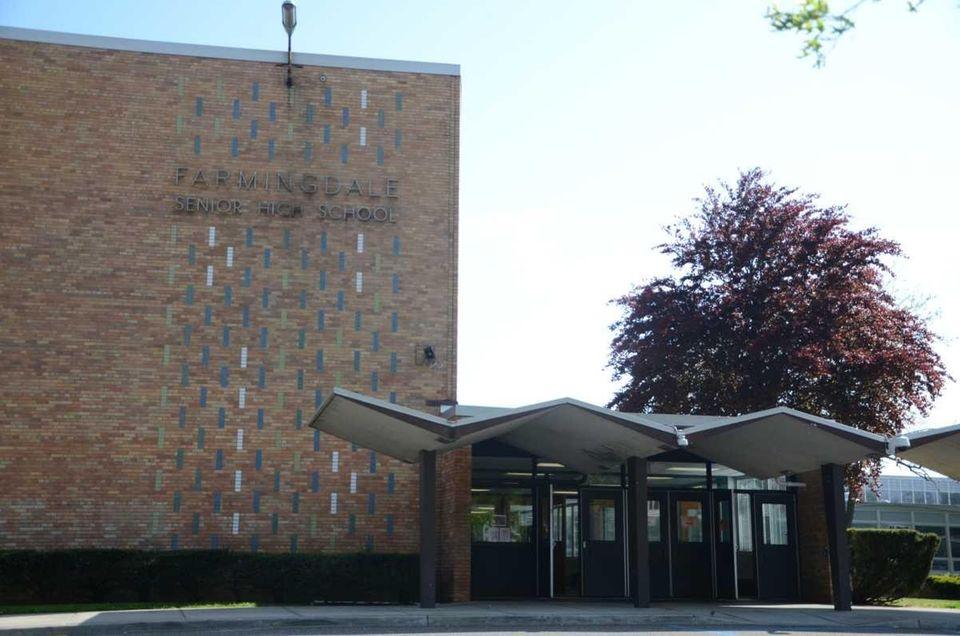 Farmingdale Senior High School, located at 150 Lincoln