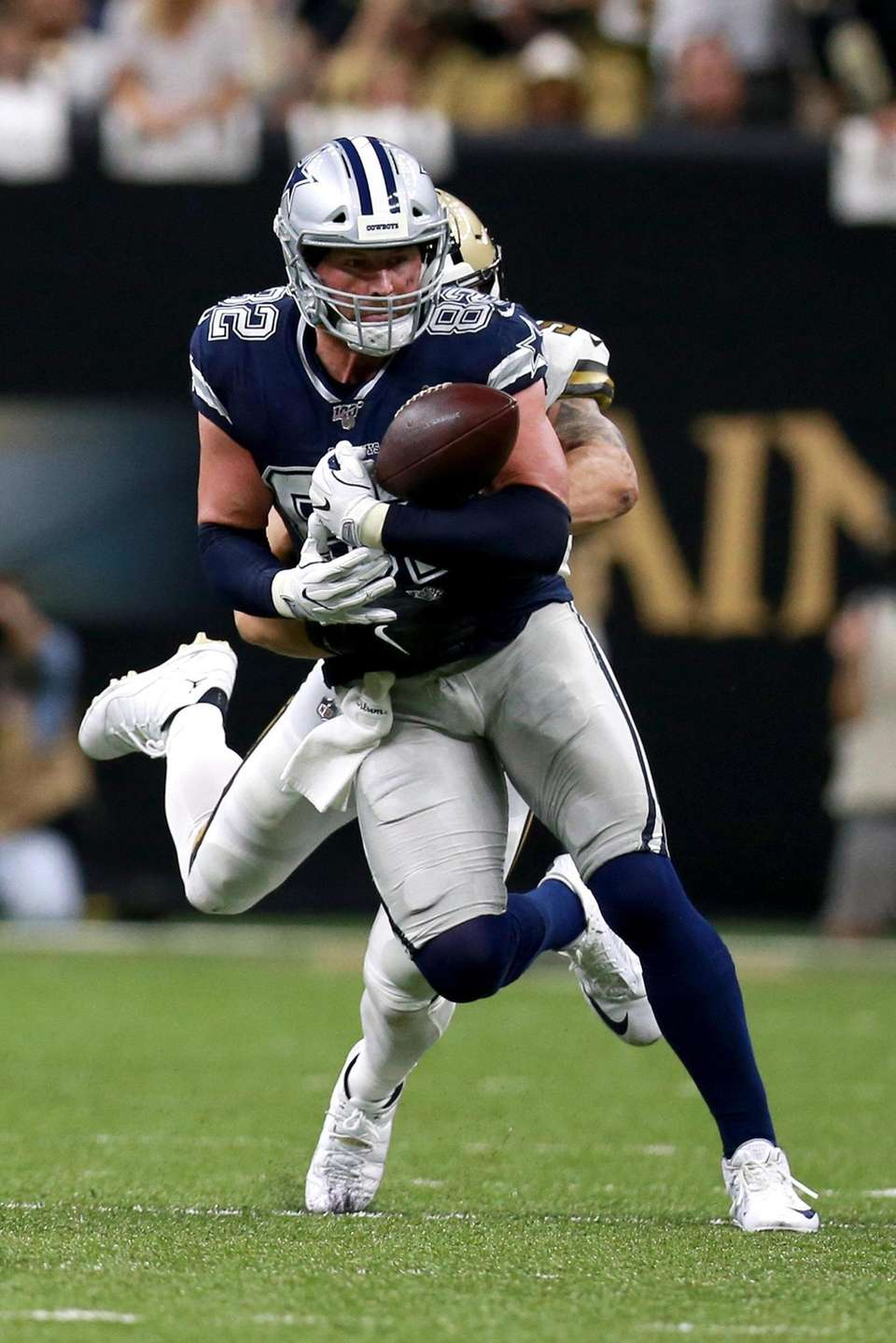 Jason Witten of the Dallas Cowboys stripped of