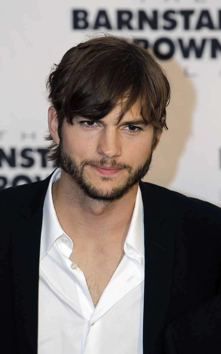 Ashton Kutcher arrives at the Barnstable Brown Derby