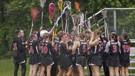Lutheran group: The Long Island Lutheran girls lacrosse