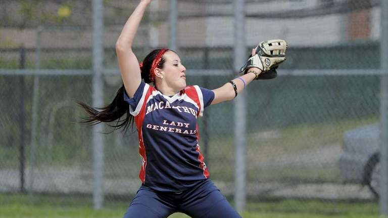 MacArthur softball player Kristen Brown (April 30, 2012)