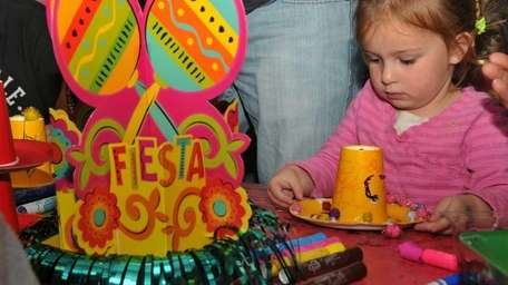Kyrea Martin, 3, of East Meadow, celebrated Cinco