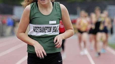 Westhampton Beach's Annica Penn finished first in the