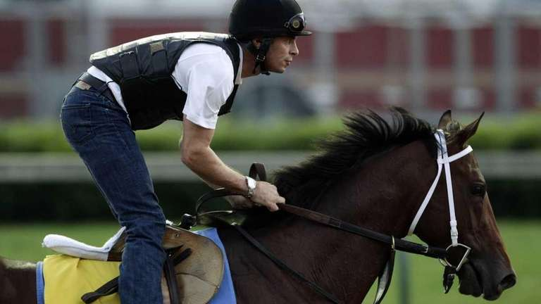 Exercise rider Rob Massey takes Kentucky Derby entrant