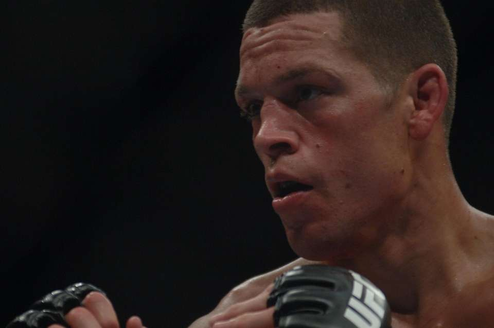 Nate Diaz beat Jim Miller by second-round submission