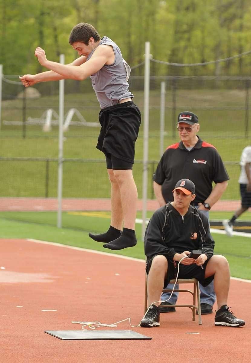 Running back John Haggart from Sayville high school