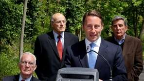 County Executive Robert P. Astorino speaks at a