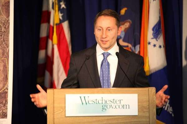 Westchester County Executive Rob Astorino during a news