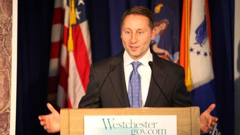 Westchester County Executive Rob Astorino during a news
