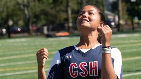 Sierra Rosado of Cold Spring Harbor poses during