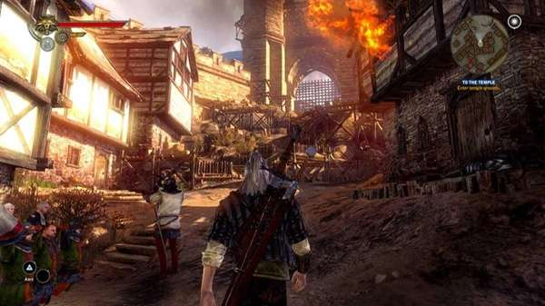 In this video game image released by Warner