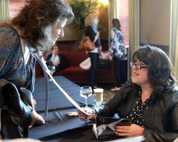 "E.L. James, author of ""Fifty Shades of Grey"""