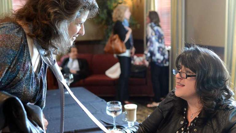 E.L. James, author of