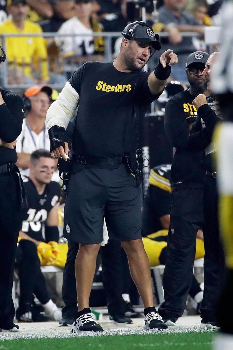 Ben Roethlisberger, out since Week 2 with an