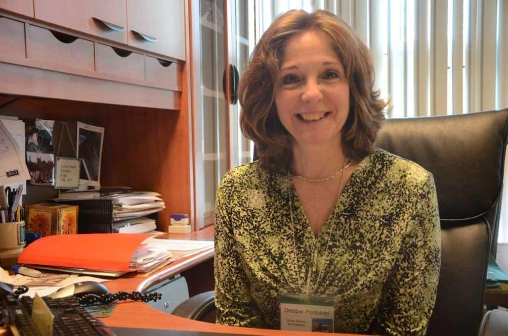 Debbie Podolski is president of the Farmingdale Chamber